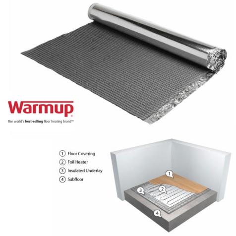 Warmup Insulated Underlay