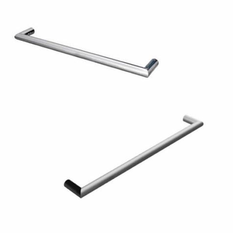 Warmup Tulsi Round Single Bar Towel Rail
