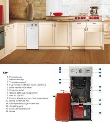 Worcester Danesmoor ERP System Boiler