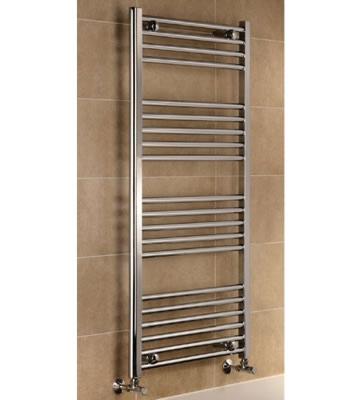 York Chrome Ladder Towel Rails