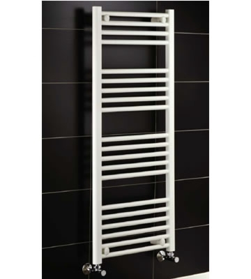 York White Ladder Towel Rails