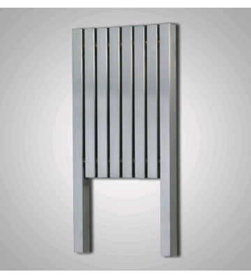 Aeon Kare L Brushed Stainless Steel Radiator