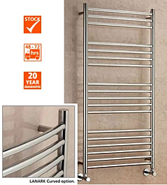 Supplies4Heat Lanark Curved Stainless Steel Towel Rails | Stainless Steel  Ladder Rails