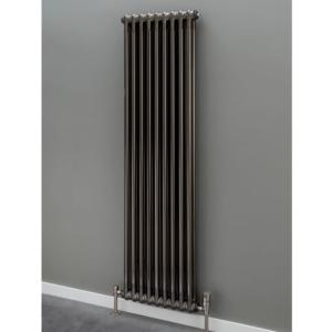 Supplies4Heat Cornel Column Radiators In Bare Metal Lacquer