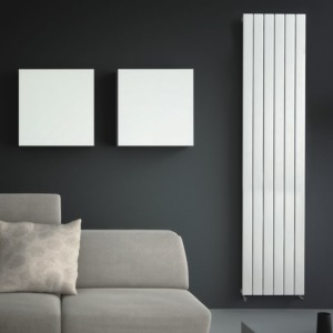 Quinn Slieve Vertical White Single Feature Radiators